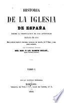 Historia de la iglesia de España