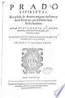 Historia de la Iglesia y del mundo que contiene los sucessos desde su creacion hasta el diluvio