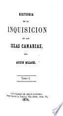 Historia de la inquisicion en las Islas Canarias