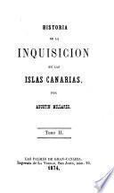 Historia de la inquisicion en las islas Canaris