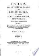 Historia de la insigne orden del toyson de oro