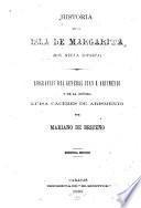 Historia de la isla Margarita (hoy Nueva Esparta)