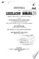 Historia de la legislación romana