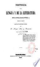 Historia de la lengua y de la literatura catalana
