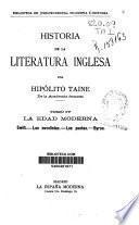 Historia de la literatura inglesa