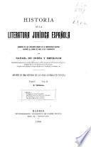 Historia de la literatura jurídica española