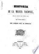 Historia de la Milicia Nacional