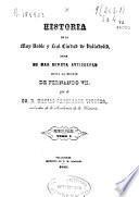 Historia de la muy noble y leal ciudad de Valladolid