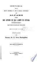 Historia de la muy noble y muy leal ciudad de Alfaro