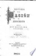 Historia de la pasión de Jesucristo