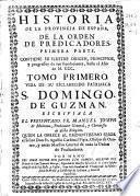 Historia de la provincia de España de la Orden de Predicadores