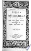 Historia de la provincia del Paraguay de la Compañía de Jesús