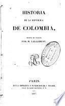 Historia de la República de Colombia