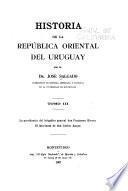 Historia de la República Oriental del Uruguay: La presidencia del brigadier general don Fructuoso Rivera. El interinato de don Carlos Anaya