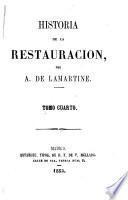 Historia de la restauración