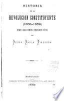 Historia de la revolución constituyente (1858-1859)