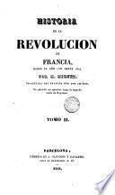 Historia de la Revolución de Francia