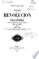 Historia de la Revolución de Inglaterra desde el advenimiento de Carlos I, hasta su muerte