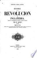 Historia de la revolucion de Inglaterra