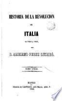 Historia de la Revolución de Italia en 1848 y 1849