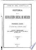 Historia de la revolución social de México