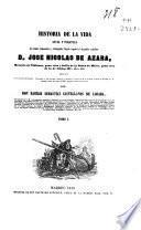Historia de la vida civil y política del célebre diplomático... José Nicolás de Azara