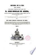 Historia de la vida de D. José Nicolás de Azara