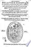 Historia de la vida ... de Luys de Granada