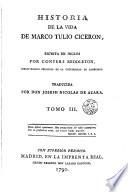 Historia de la vida de Marco Tulio Ciceron, 3