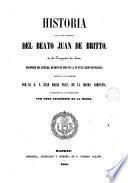 Historia de la vida y martirio del Beato Juan de Britto