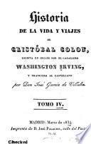 Historia de la vida y viajes de Cristóbal Colon