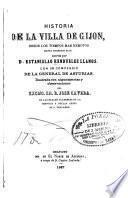 Historia de la villa de Gijon ...