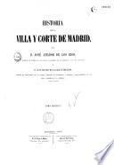 Historia de la villa y corte de Madrid