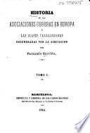 Historia de las asociaciones obreras en Europa