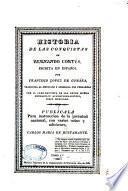 Historia de las conquistas de Hernando Cortés