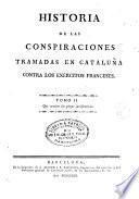 Historia de las conspiraciones tramadas en Cataluña contra los exércitos franceses, 2