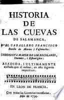 Historia de las cuevas de Salamanca