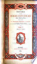 Historia de las ideas estéticas en España: Siglo XIX: El romanticismo en Francia