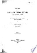 Historia de las Indias de Nueva-España y islas de tierra firme