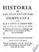Historia de las islas Philipinas