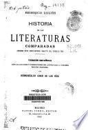 Historia de las literaturas comparadas desde sus orígenes hasta el siglo XX