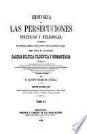 Historia de las persecuciones políticas y religiosas