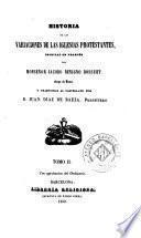 Historia de las variaciones de las iglesias protestantes, 2