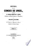 Historia de los condes de Urgel, 1