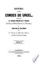 Historia de los condes de Urgel