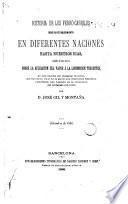 Historia de los ferrocarriles desde su establecimiento en diferentes naciones hasta nuestros días