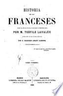 Historia de los francesa