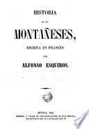 Historia de los montañeses