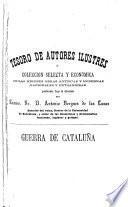 Historia de los movimientos, separacion y guerra de Cataluña en tiempo de Felipe IV