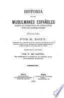 Historia de los musulmanes españoles